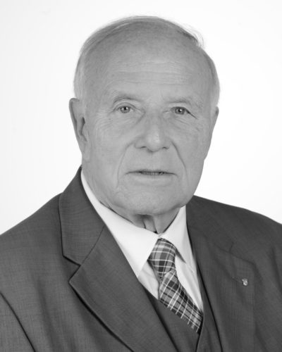 Günter Seifermann in Graustufen